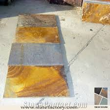 cheap price peacock rustic slate patio flooring tiles