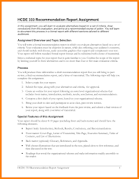 Cover Page Report Template by 5 Formal Recommendation Report Target Cashier