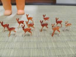 deer cake topper tiny deer cake toppers kitschy kitschy