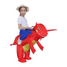 inflatable dragon fancy dress dinosaur halloween fat costume suit