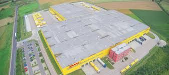 dhl siege social build to suit for gardman in daventry prologis