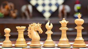 luxury chess set combo of american adios series luxury chess pieces in bud rose