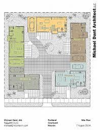 courtyard home floor plans u shaped floor plans with pool fresh courtyard home floor plans