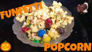thanksgiving funfetti popcorn