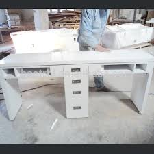 Manicure Bar Table Marble Material Nail Table Manicure Table Used Nail Salon