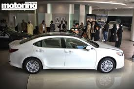 lexus cars 2013 2013 lexus es350 first look motoring middle east car news
