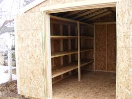 Building Wood Shelves In Shed by Storage Sheds Garages Prices Northern Storage Sheds Fort