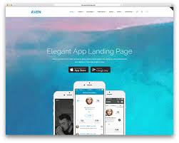 20 best landing page wordpress themes for apps products and