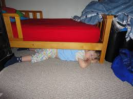 under the bed surrender my crazy sleeper