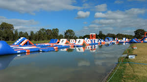 250 people giant inflatable water park games with inflatable
