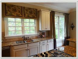 kitchen window treatment ideas home decor gallery