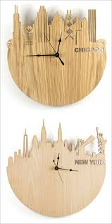 home decor from around the world contemporist 14 modern wood wall clocks to spruce up any decor