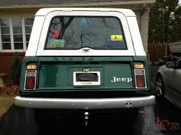 1970 jeep commando interior jeepster commando