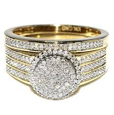 Wedding Rings For Her by Gold Wedding Rings For Her Wedding Promise Diamond Engagement