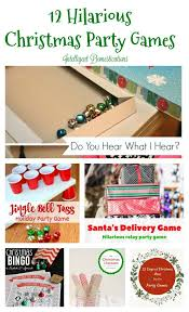 Easy Christmas Games Party - best 25 christmas party family ideas on pinterest diy xmas