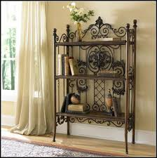 Wrought Iron Bathroom Shelves European Retro Do The Old Wrought Iron Wood Clapboard Shelf