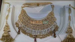 gold bridal set gold bridal sets karachi free classified in pakistan
