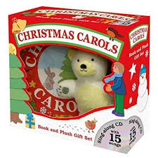 carols book and plush gift set with cd