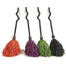 witch halloween crafts halloween witch broom decor choice of orange purple green black