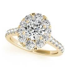 unique gold engagement rings yellow gold engagement rings 14k 18k diamonds cz