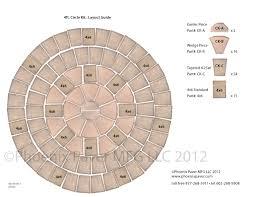 Circle Paver Patio Kits Circle Sets Paver Shapes