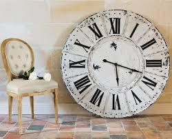 Horloge Murale Ronde Blanche Avec Emejing Horloge Murale Bois Vieilli Pictures Joshkrajcik Us