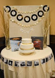 Husband Birthday Decoration Ideas At Home Vinyl Records Vintage Rock Party Rockstar Party Ideas