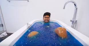 Challenge Bathtub Jelly Bath Water Experiments Jello Bath