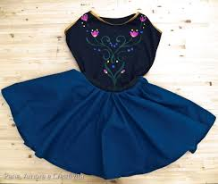 Anna Frozen Costume 15 Awesome Diy Princess Anna Costume Tutorials For Little Girls