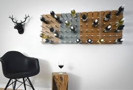 stact modular wine rack u2013 lumberjac
