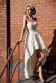 high low wedding dress with cowboy boots arrival high low wedding dresses weddceremony com