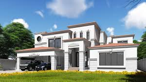 colonial architecture residence 2 kanal house by core consultant