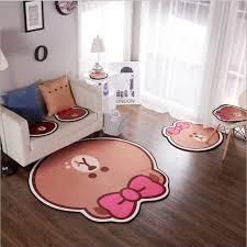 tapis ourson chambre b chaude bande dessinée coussins brun ours tapis de jeu d