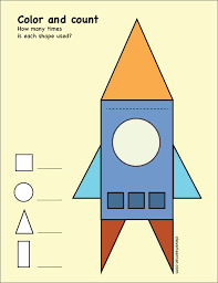 free triangle shape activity worksheets for children
