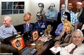 Situation Room Meme - osama bin laden in white house situation room pictures