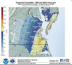 Snowfall Totals Map January Weather History