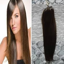 micro ring hair extensions review apply micro link hair extensions human 6 medium brown