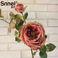 Decorative Sticks For Floor Vases Snnei Indoor Artificial Flowers Roses Royal Living Room Floor Vase