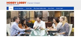 hobbylobby com retail hourly hobby lobby career center