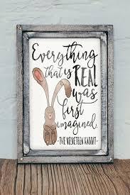 velveteen rabbit nursery the velveteen rabbit 8x10 watercolor nursery artwork quote