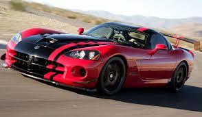 dodge viper performance dodge viper acr is the performance car of autoevolution