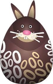 chocolate bunny ears free vector graphic chocolate bunny pääsiäspupu free image on