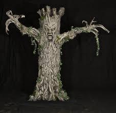 evil tree halloween prop animated loversiq