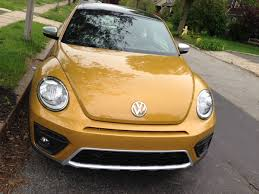used yellow volkswagen beetle for the vw beetle cool backup camera business insider