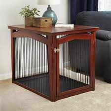 Dog Crate Furniture Bench Best Dog Crates And Playpens For Labradors Or Large Breeds