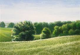 How To Draw Landscapes by How To Draw Landscapes With Colored Pencil Carrie L Lewis
