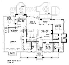 white brick home plans home plan