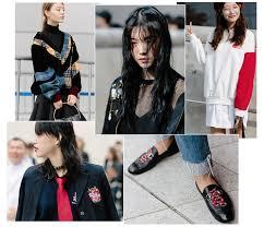 street style seoul fashion week spring summer 2017 vogue paris