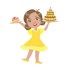 A Birthday Cake Happy Birthday Eight Royalty Free Vector Image