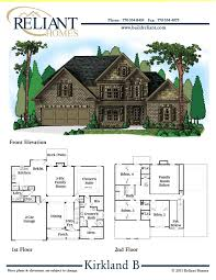 townhouse plans for sale reliant homes the kirkland b plan floor plans homes homes
